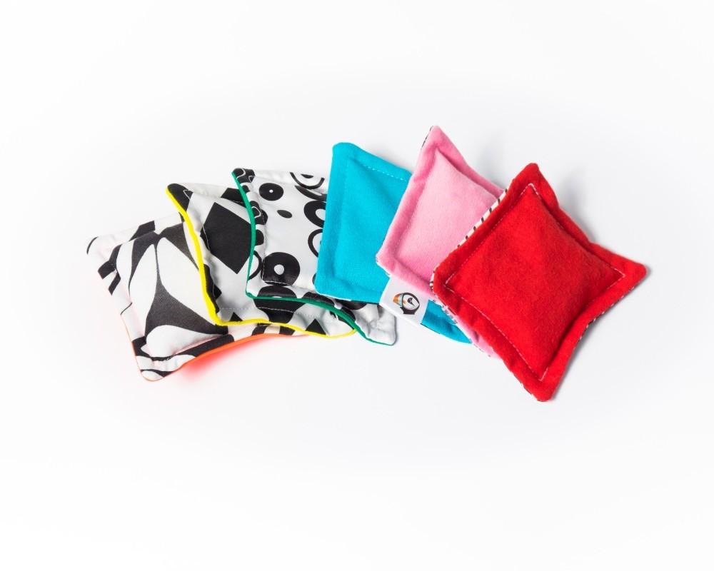 """Woreczki sensoryczne """"Small Bag"""" z naturalnym wypełnieniem"""