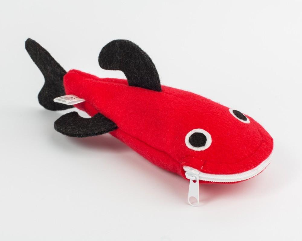 Piórnik Rekin - Czerwony