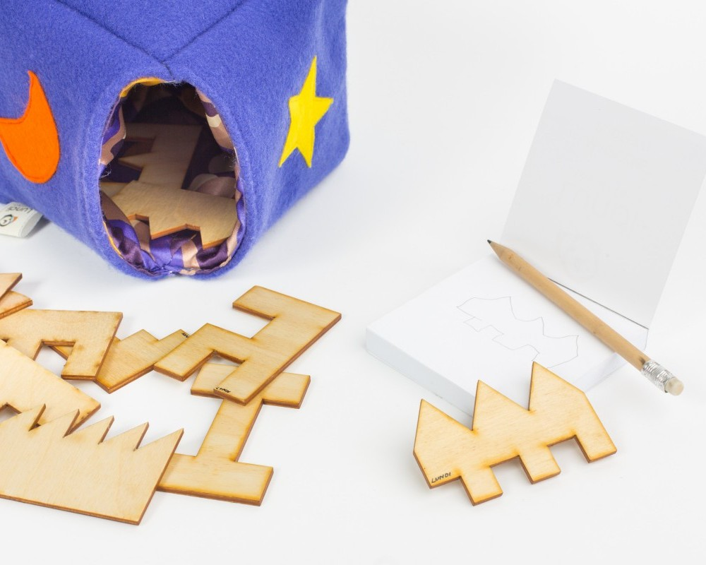 Magiczne Pudełko. Jaka to figura? Gra rozwijająca myślenie przestrzenne
